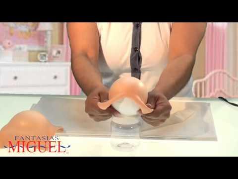 Haz una carreola para baby shower con dulceros.