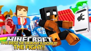 getlinkyoutube.com-THE BEST OF DONNY AND DONUT: THE FIGHT!! - Little Donny Minecraft Custom Roleplay.