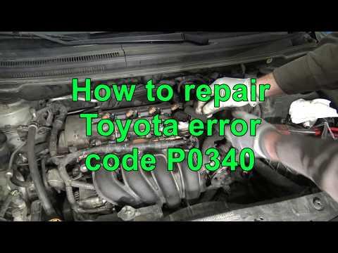 How to repair Toyota engine error code P0340