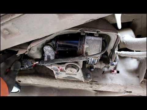 Ошибка компрессора пневмоподвески Land Rover Discovery 3 Ленд Ровер Дискавери 3