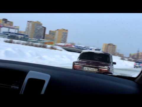 KIA Venga vs 2 Subaru Impreza WRX STI
