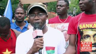 Burkinabe citizens protest against Blaise Compaore