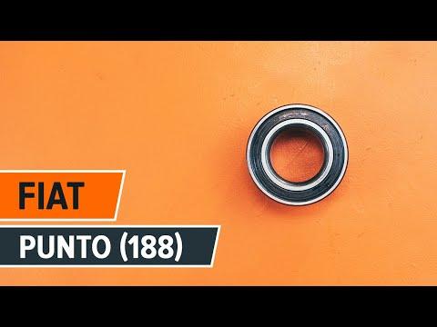 Como cambiar cojinete de rueda delantero FIAT PUNTO INSTRUCCION | AUTODOC
