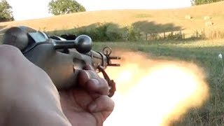 getlinkyoutube.com-RUSSIAN BOOMSTICK (M44 MOSIN NAGANT)