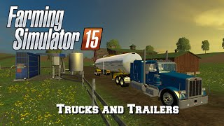 Farming Simulator 2015: Mod Spotlight #16: Trucks and Trailers