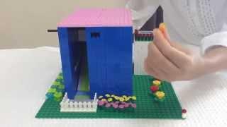 getlinkyoutube.com-レゴ 飲み物が出てくる❗️ガチャガチャ(自動販売機) 仕組み&作り方  LEGO