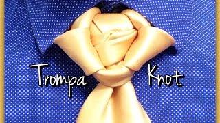 getlinkyoutube.com-The Trompa Knot : How to tie a tie