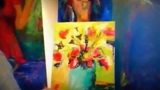 getlinkyoutube.com-How to paint abstract flowers