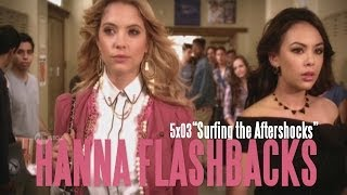 "getlinkyoutube.com-Pretty Little Liars - Hanna Flashbacks/Ending - ""Surfing the Aftershocks"" [5x03]"