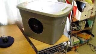 getlinkyoutube.com-Homemade Evaporative Cooler (Swamp Cooler)