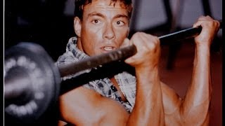 "getlinkyoutube.com-Jean Claude Van Damme _   ""  The Muscles From Brussels Training  ""   (1987  2012)"