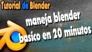 getlinkyoutube.com-Tutorial de blender 3d basico