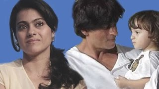 getlinkyoutube.com-Shahrukh Khan's Son AbRam Khan HATES Kajol | Dilwale Trailer Launch