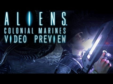 Aliens: Colonial Marines gameplay preview