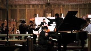 Arthur Chen - Bach Concerto for Harpsicord and Orchestra D Minor 3rd mvt.