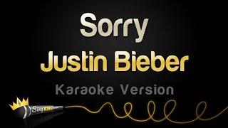 getlinkyoutube.com-Justin Bieber - Sorry (Karaoke Version)