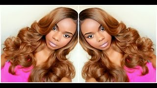 getlinkyoutube.com-#Yasss Wig! Outre L-Part Swiss Lace Front Wig - EMMY