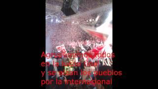 Himno de la Internacional Socialista en Español con Letra