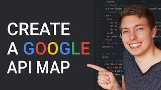 47: Create a Google map in a website | Google API Map | Learn HTML and CSS | HTML tutorial