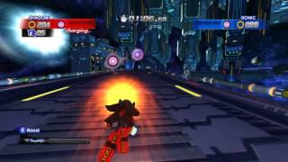 getlinkyoutube.com-Shadow vs. Sonic - Sonic Generations Mod ~ Shadow The Hedgehog