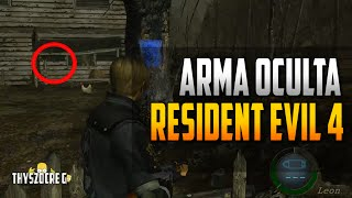 Arma Oculta Resident Evil 4 [Xbox 360]