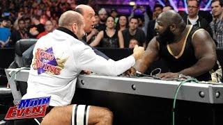 getlinkyoutube.com-Mark Henry vs. Cesaro - Arm Wrestling Match:  WWE Main Event, May 20, 2014