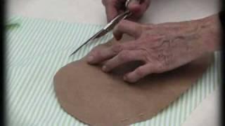Cómo forrar un cesto de mimbre