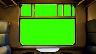 getlinkyoutube.com-Train Window - green screen C
