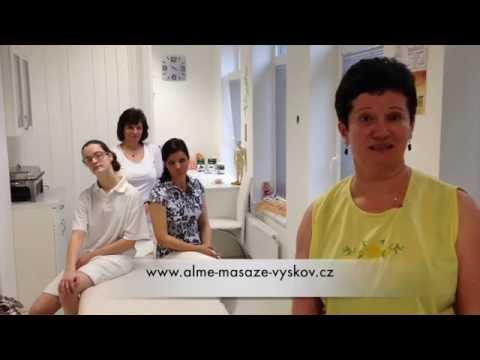 Přijďte si odpočinout do ALME - masáže ve Vyškově