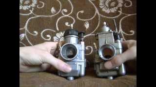 Различие между карбюратором К65 и К68