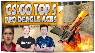 getlinkyoutube.com-CS:GO - TOP 5 PRO DEAGLE ACES ft device, s1mple, Happy & More! (Insane Deagle Clips)