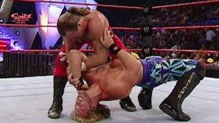 getlinkyoutube.com-FULL-LENGTH MATCH - Raw 2004 - Chris Jericho vs. Shawn Michaels : Intercontinental Title Match