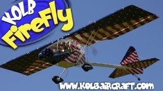 getlinkyoutube.com-Kolb Aircraft, Kolb FireFly part 103 legal ultralight aircraft.