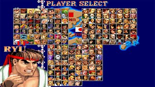 getlinkyoutube.com-Street Fighter II Deluxe 2 - Jogando com EVIL RYU Gameplay - MUGEN