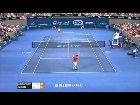 Andy Murray v Alexandr Dolgopolov Highlights Men's Singles Final: Brisbane International 2012