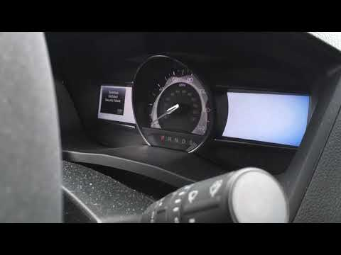2018 Ford Explorer Security Mode Chime