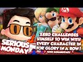 ZeRo Challenges Himself To Win With Every Character In For Glory In A Row! w Commentary