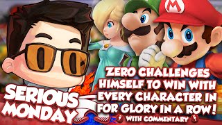 getlinkyoutube.com-ZeRo Challenges Himself To Win With Every Character In For Glory In A Row! w/ Commentary