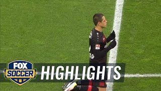 getlinkyoutube.com-Bayer 04 Leverkusen vs. Eintracht Frankfurt | 2016-17 Bundesliga Highlights