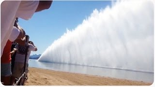 getlinkyoutube.com-Lake Havasu Top Fuel Boat Drag Race Awesomeness