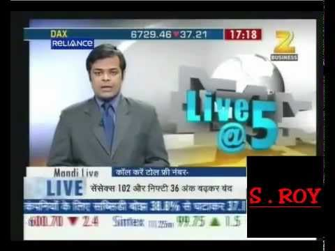 Speak Asia Online - Zee Business Coverage at 5pm On 6th February 2012.