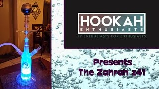Hookah Pipe Review: Zahrah z41