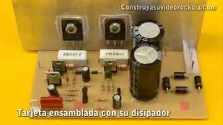 getlinkyoutube.com-Amplificador de 100W con transistores PNP