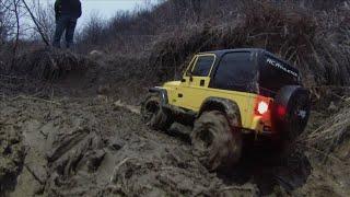 getlinkyoutube.com-RC ATHLETES - Tamiya CC01 & Axial SCX10 Trail Crawl