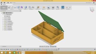 getlinkyoutube.com-Fusion 360 Tutorial - WEB Feature, DXF import & STL export FF.E6