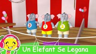 getlinkyoutube.com-Un Elefant Se Legana -  Cantece Pentru Copii