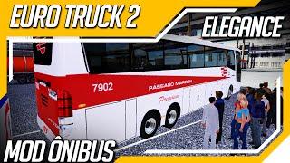 getlinkyoutube.com-Euro Truck Simulator 2 - Mod Onibus - Elegance 360 + Mod Passageiro