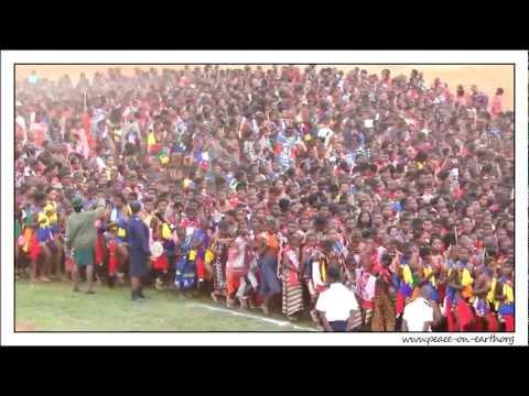 2012 Umhlanga Reed Dance Ceremony, Swaziland  (1)