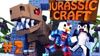 "getlinkyoutube.com-Minecraft | Jurassic Craft - Dinosaurs Ep 2 ""NEW JURASSIC PARK"""