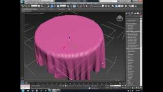 getlinkyoutube.com-3DS Max - Cloth Simulation basic tutorial